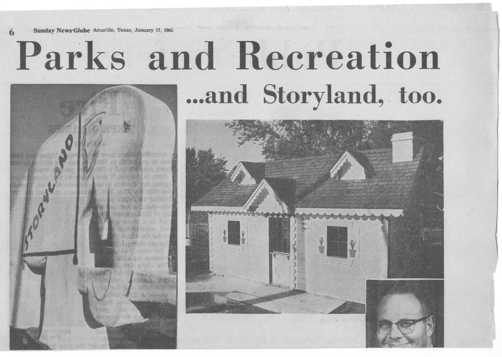 News article about original Story Land Zoo